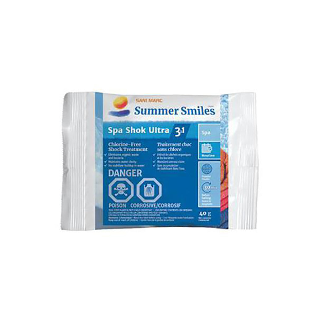 SUMMER SMILES SPA SHOK ULTRA 3 in 1 PACKET