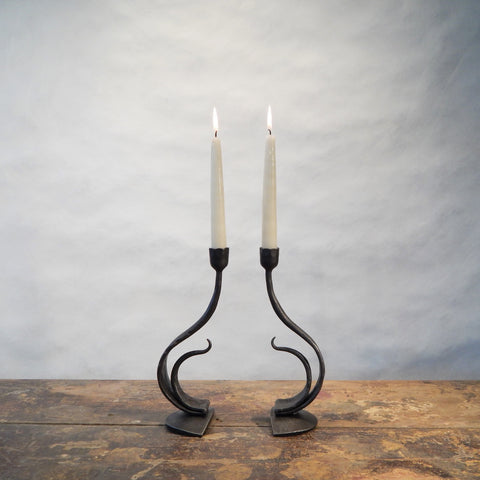 Recurve Candle Pair