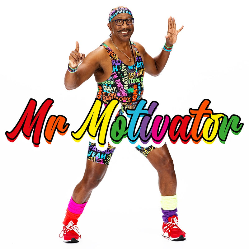 Tikiboo and Mr Motivator launch a fabulously funky activewear range
