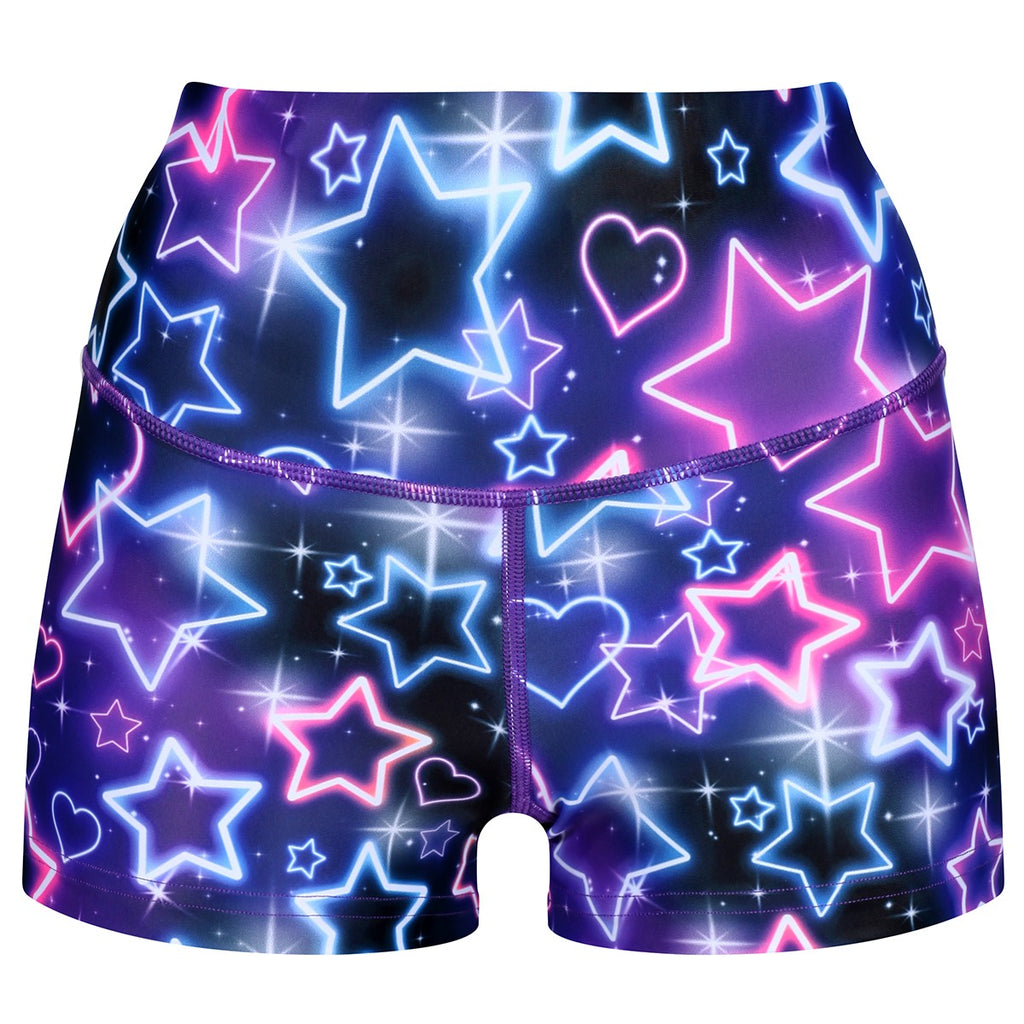 Tikiboo Ultraviolet TikiBooty Shorts - Front Product View
