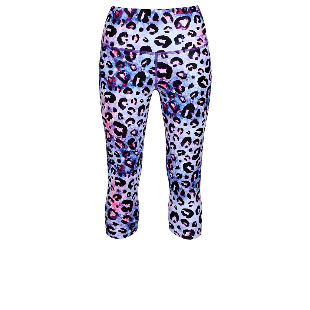 Tikiboo Bluebell Ocelot Capri - Front Product View