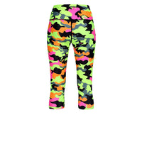 Tikiboo Fruit Salad Camo Cropped Tights - Back Product View