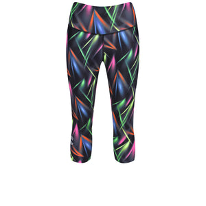 Tikiboo Clubbercise Laser Light Capri - Front Product View