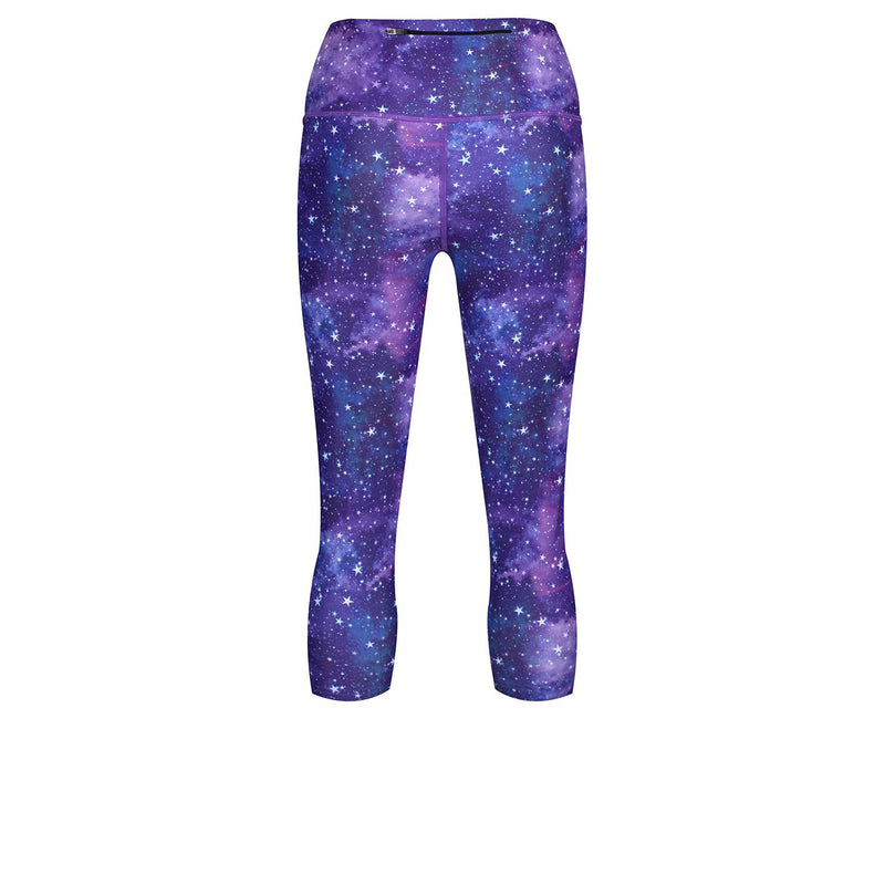 Tikiboo Galactic Night Cropped Tights - Back Product View