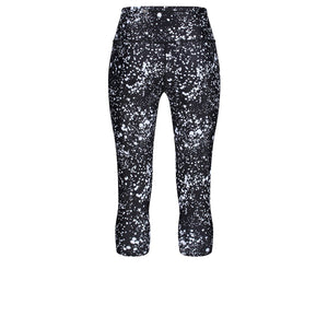 Tikiboo Cosmic Cropped Tights - Back Product View