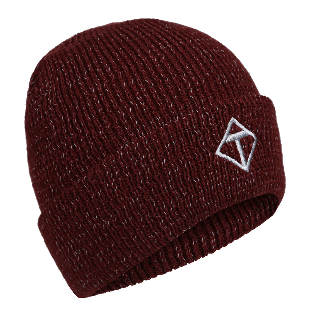 Burgundy Reflective Hat