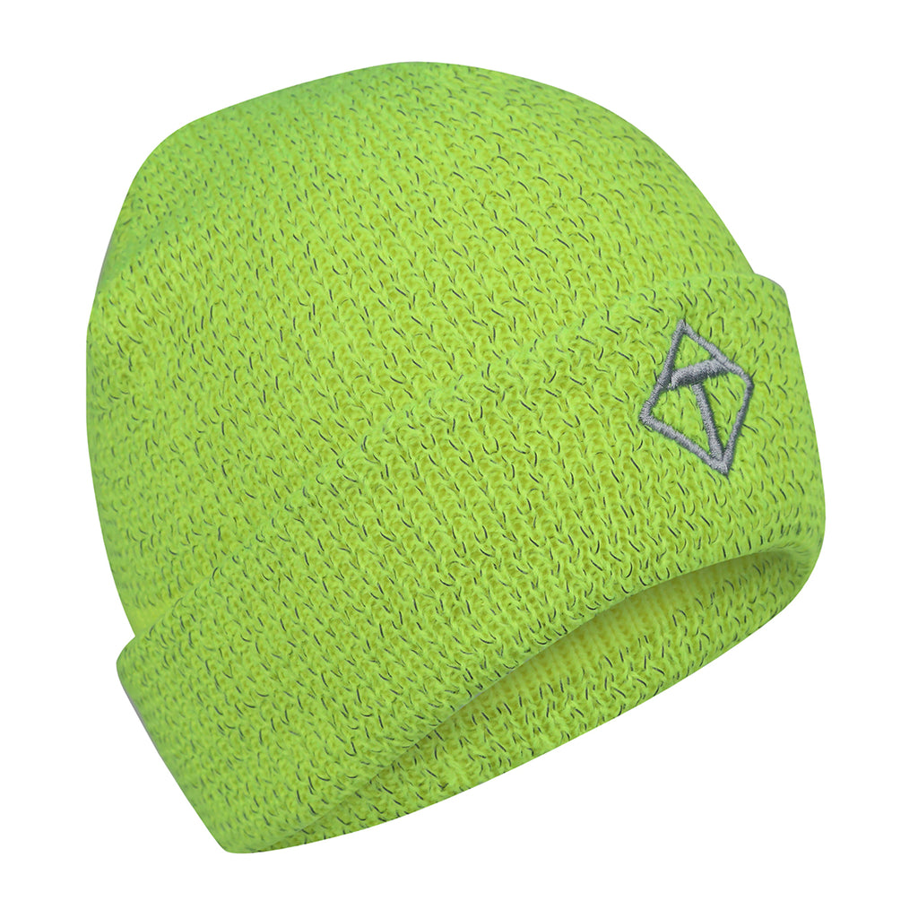 Neon Yellow Reflective Hat