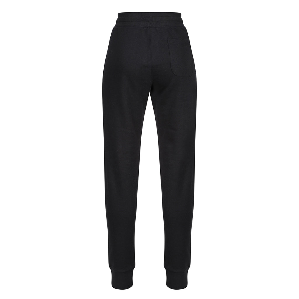 Tikiboo Black Athletics Tracksuit Bottoms - Back Product View