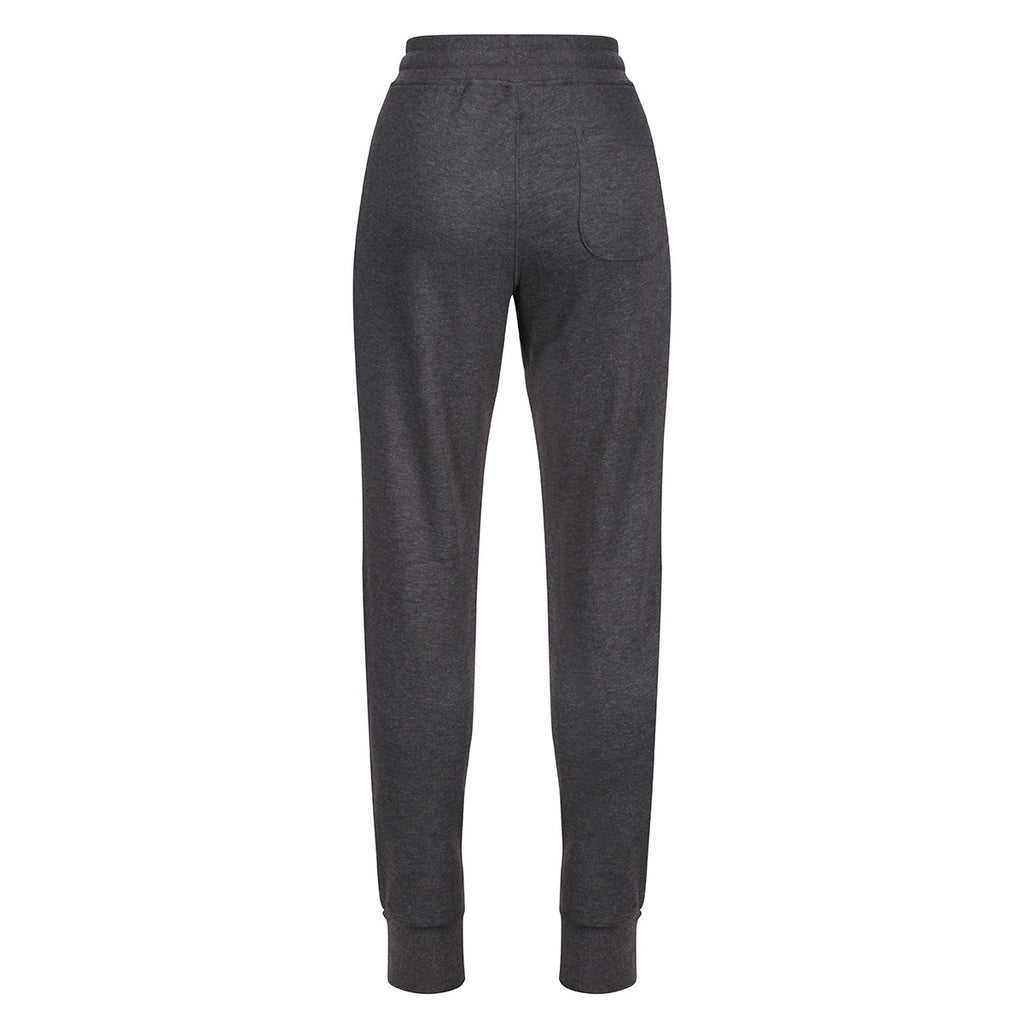 Tikiboo Charcoal Marl Athletics Tracksuit Bottoms - Back Product View