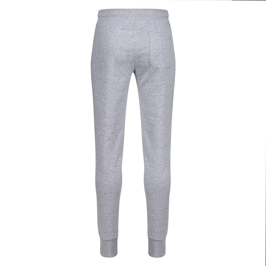 Tikiboo Grey Marl Athletics Tracksuit Bottoms - Back Product View