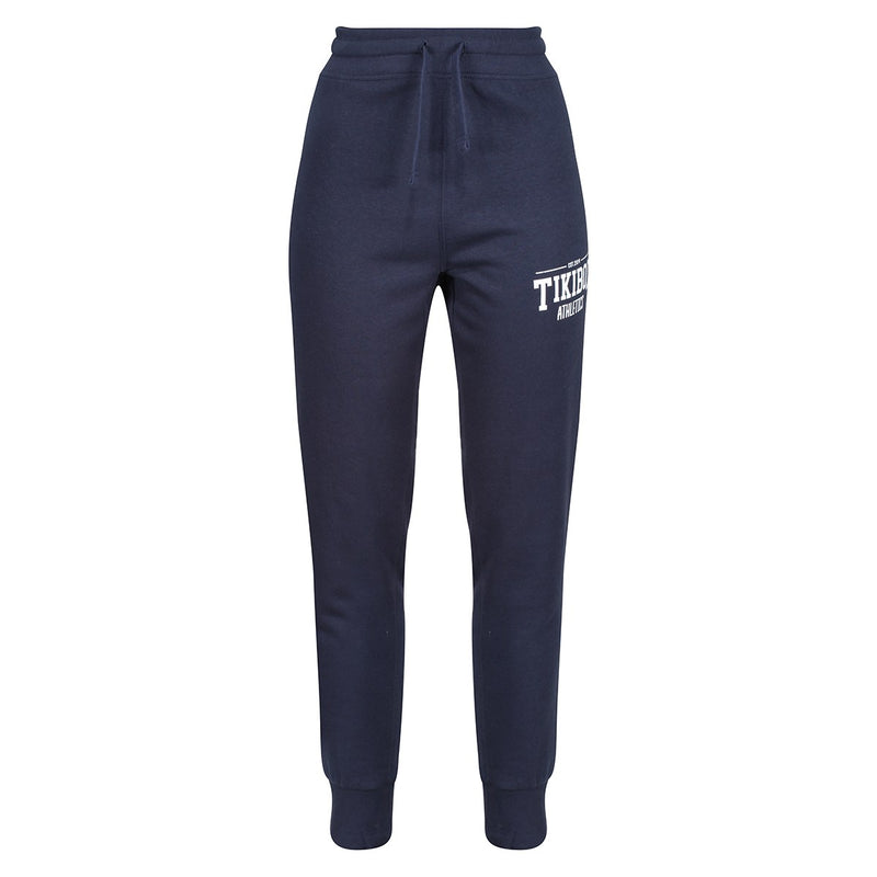 Tikiboo Navy Athletics Joggers - Front Product View