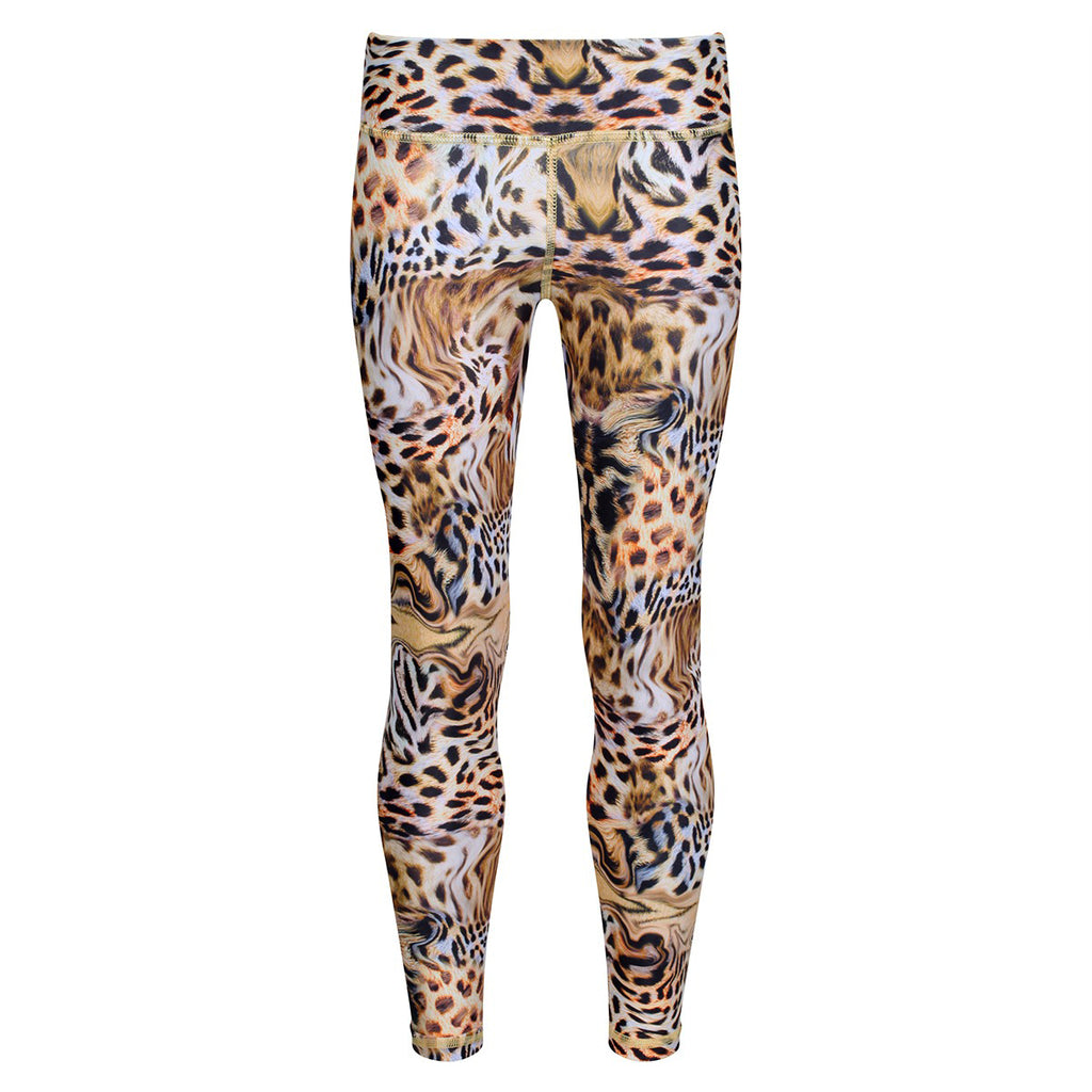 Gold Amur Kids Leggings
