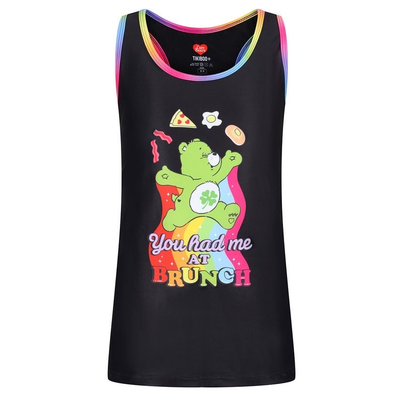 Tikiboo Care Bears 'You Had Me At Brunch' Kids Vest - Front Product View