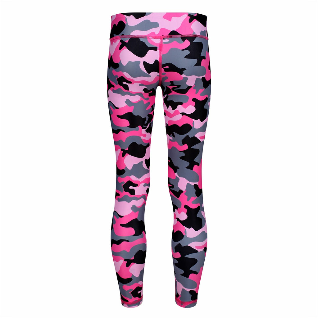 Tikiboo Strawberry Sundae Camo Child Tights - Front Product View