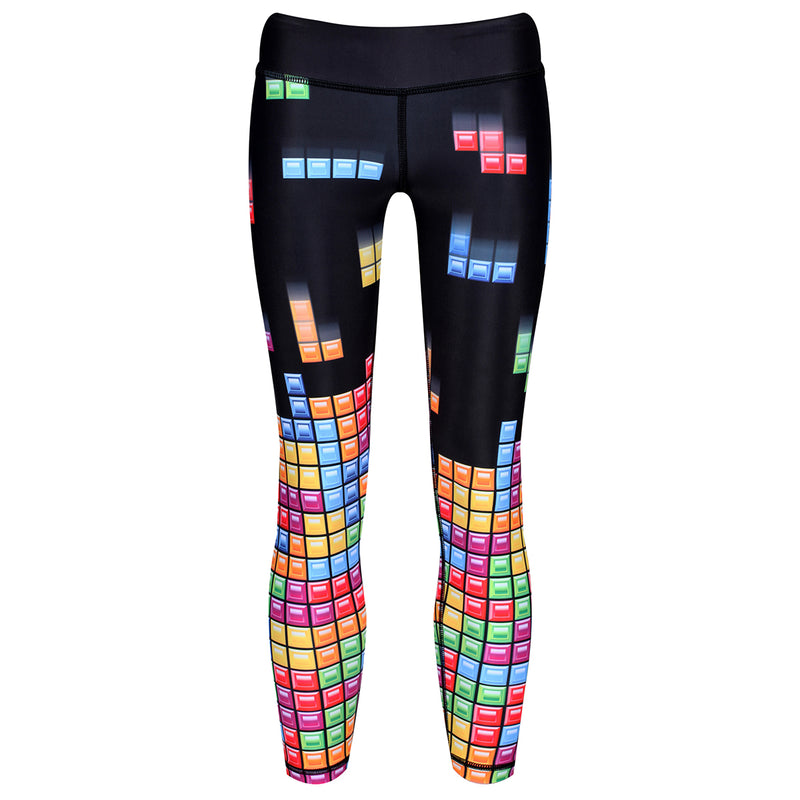 Tetris™ Game Play Kids Leggings