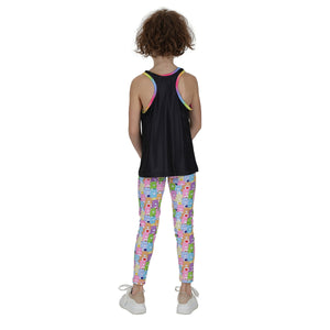 Tikiboo Care Bears 'You Had Me At Brunch' Childs Tank Top - Back Model View