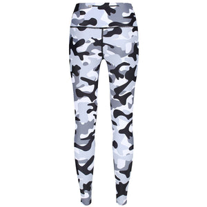 Tikiboo Monochrome Camo Pants - Back Product View