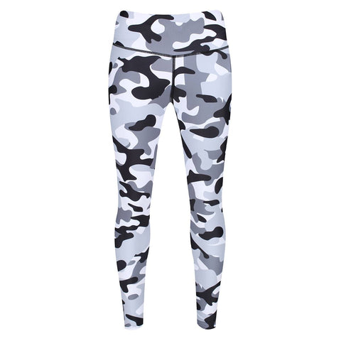 Tikiboo Monochrome Camo Leggings - Front Product View
