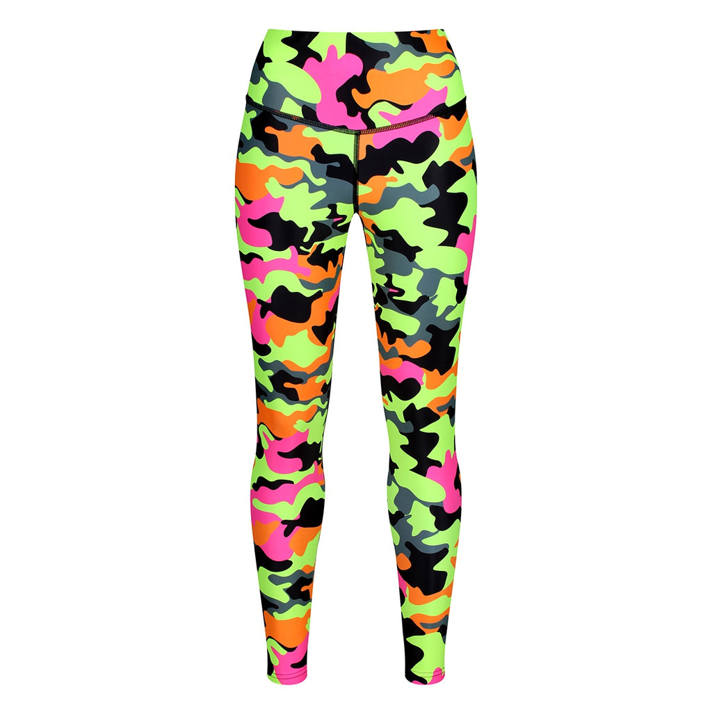 Tikiboo Fruit Salad Camo Leggings - Front Product View