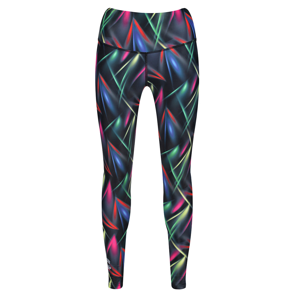 Tikiboo Clubbercise Laser Light Leggings - Front Product View