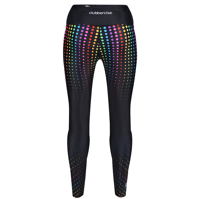 Tikiboo Clubbercise Rainbow Raver Pants - Back Product View