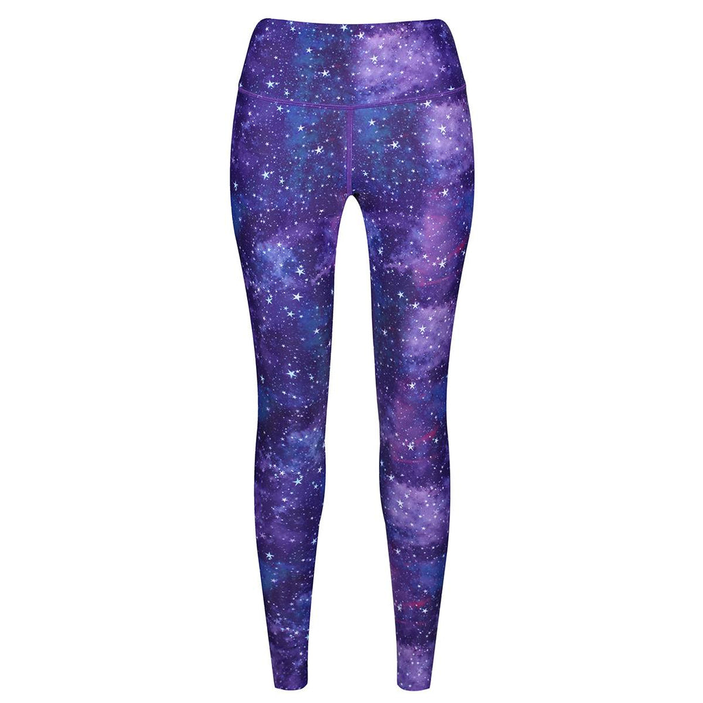Tikiboo Galactic Night Leggings - Front Product View
