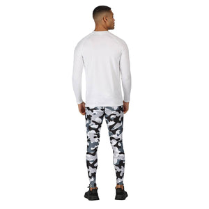Tikiboo Monochrome Camo Tight Pants - Back Male Model View