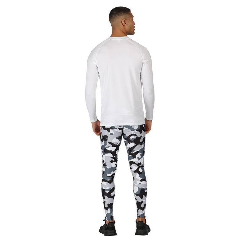 Monochrome Camo Leggings