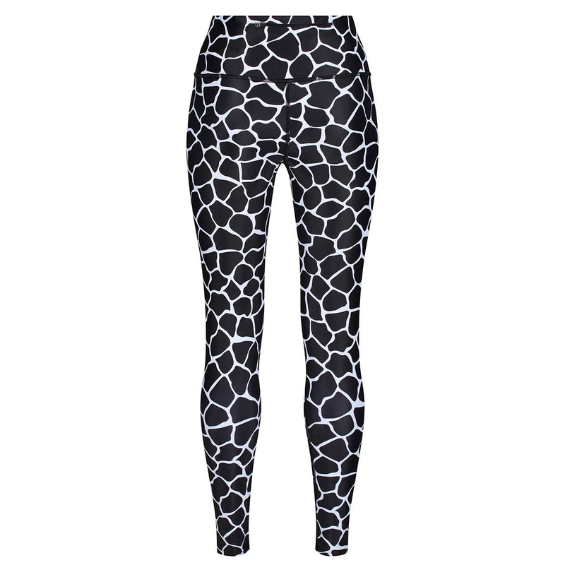Tikiboo Monochrome Giraffe Pants - Back Product View