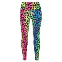 Neon Leopard Leggings