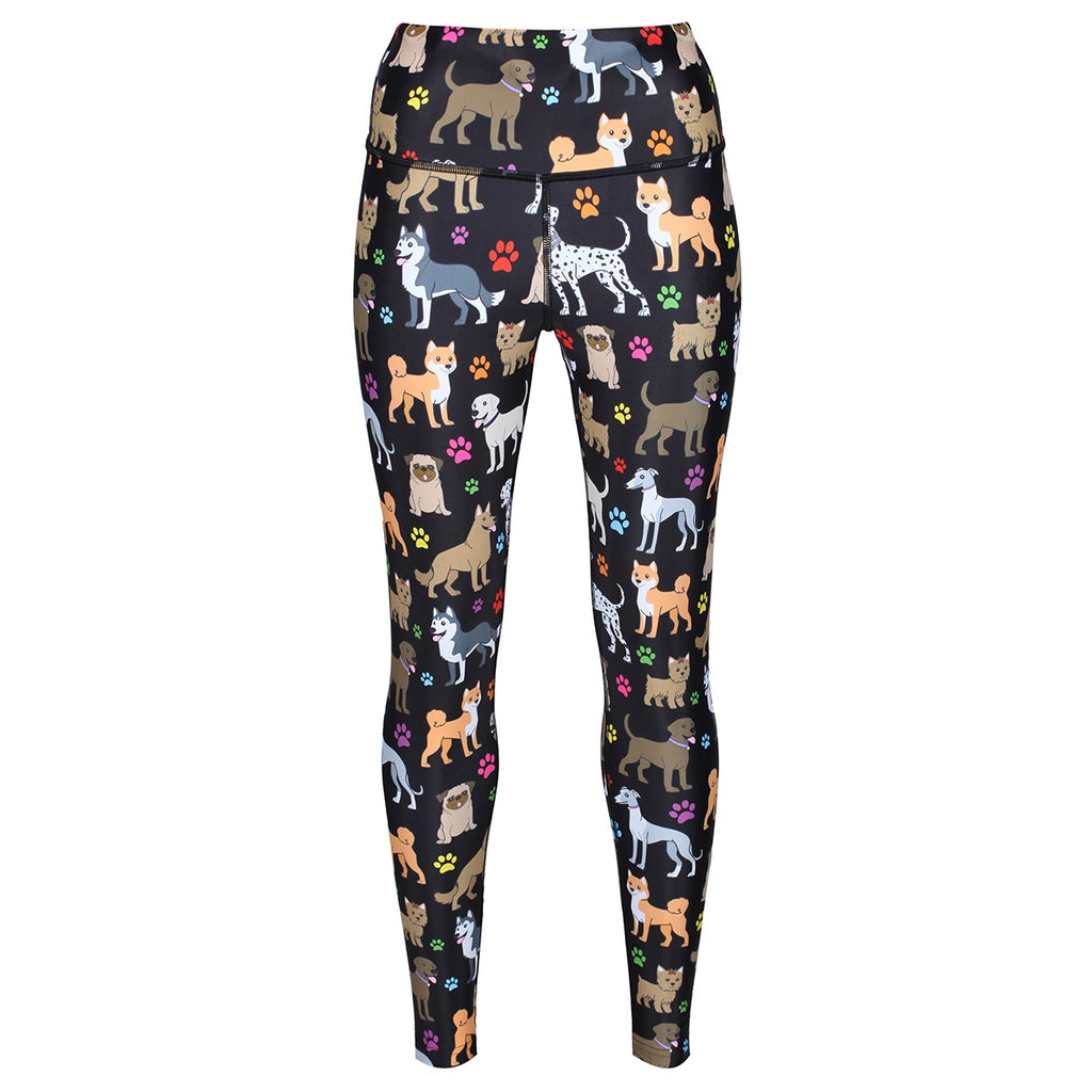 Tikiboo TikiDogs Leggings - Front Product View
