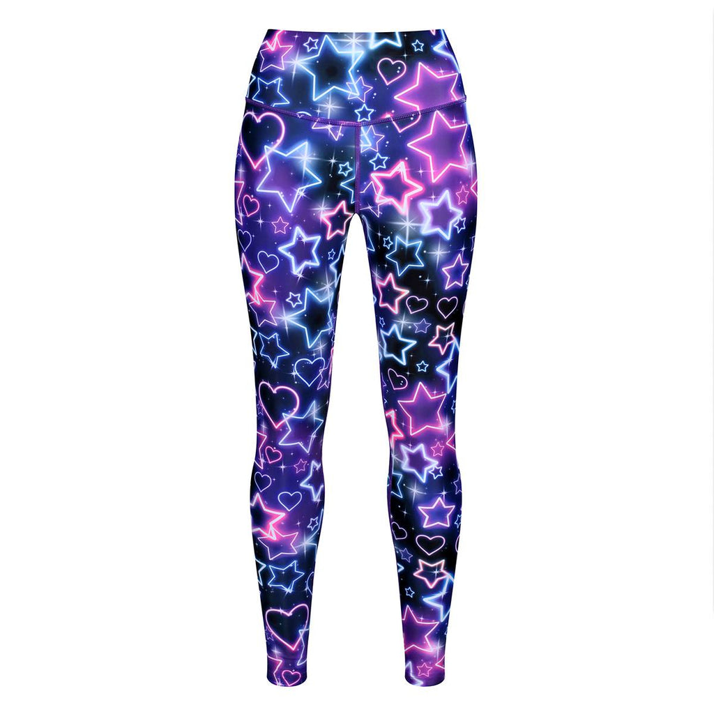 Tikiboo Ultraviolet Leggings - Front Product View