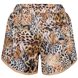 Gold Amur Loose Fit Workout Shorts