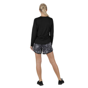 Tikiboo Cosmic Loose Fit Exercise Shorts - Back Model View