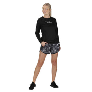 Tikiboo Cosmic Loose Fit Workout Pants - Front Model View