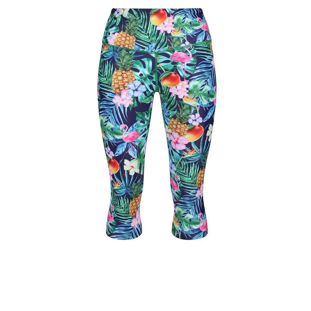 Tikiboo Mr Motivator Goes Tropical Capri - Front Product View