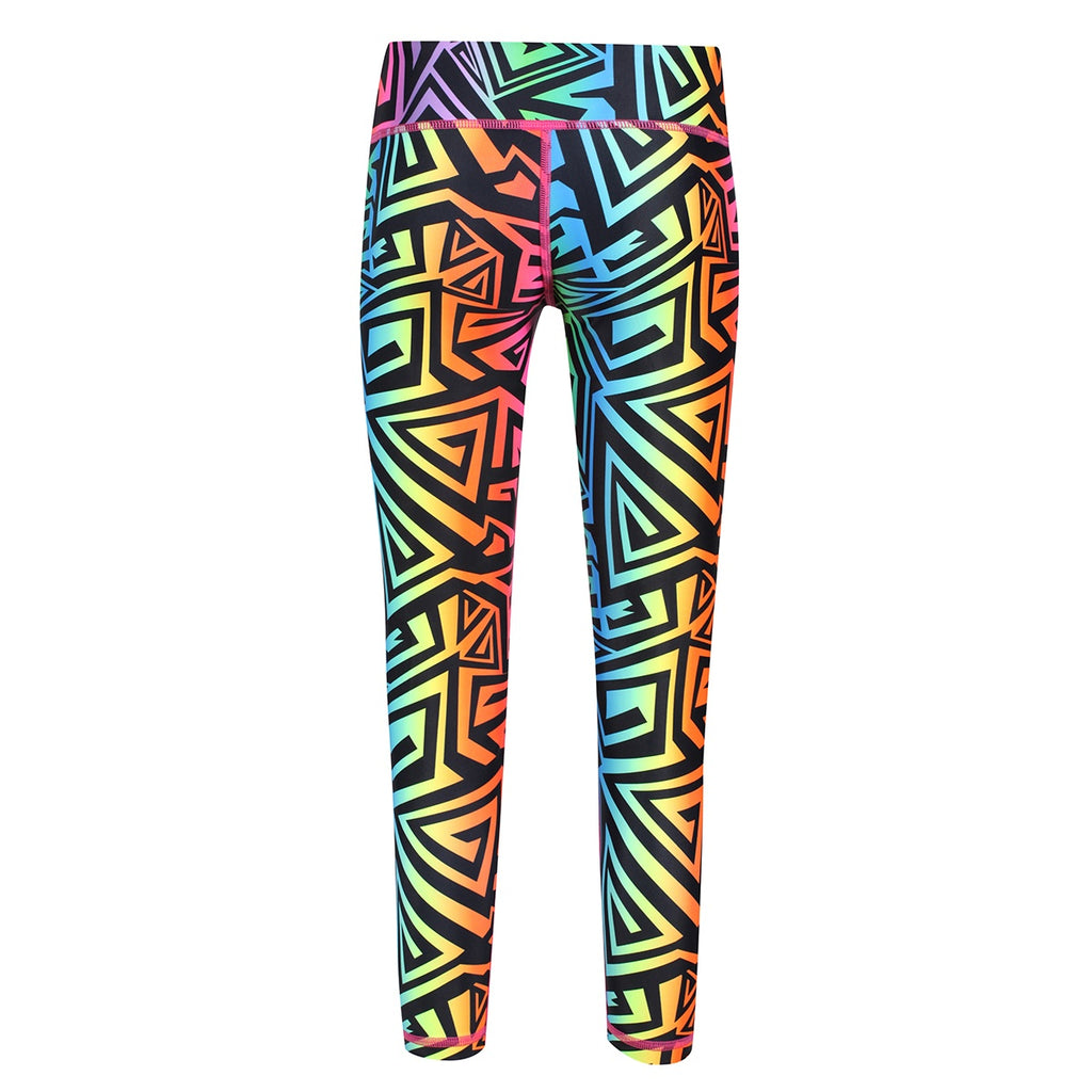 Tikiboo Mr Motivator '90s Guru Child Tights - Back Product View