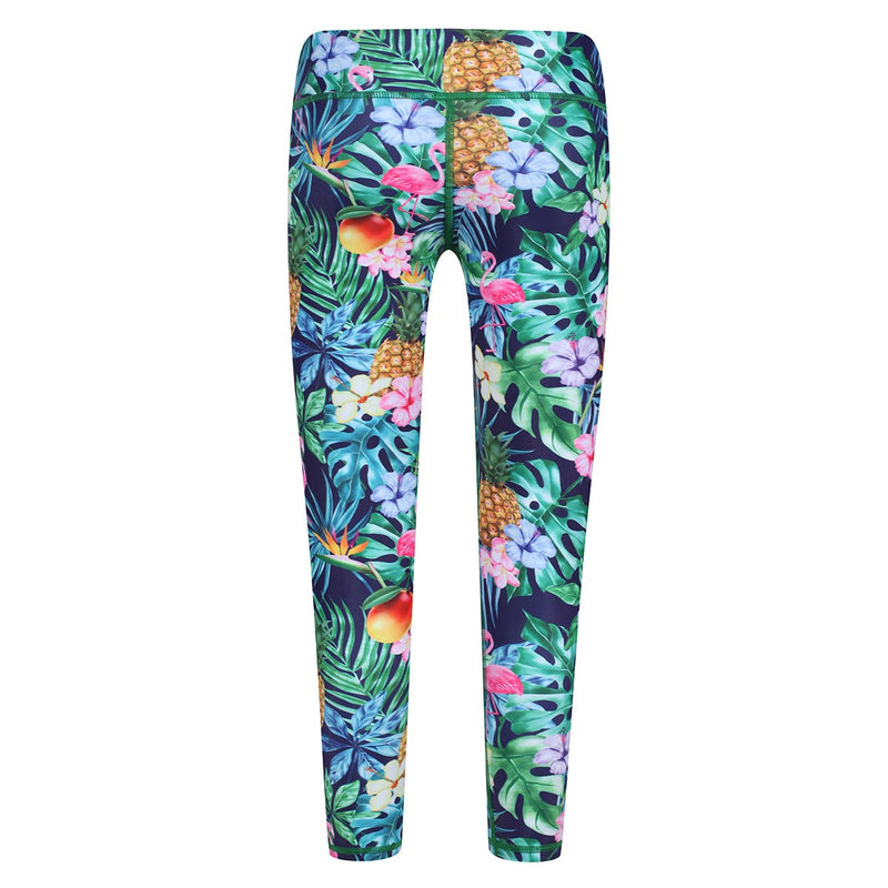 Tikiboo Mr Motivator Goes Tropical Child Tights - Back Product View