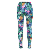 Tikiboo Mr Motivator Goes Tropical Pants - Back Product View