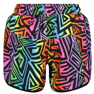 Tikiboo Mr Motivator '90s Guru Loose Fit Exercise Pants - Back Product View