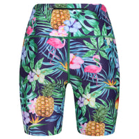 Tikiboo Mr Motivator Goes Tropical Running Short LYCRA - Back Product View