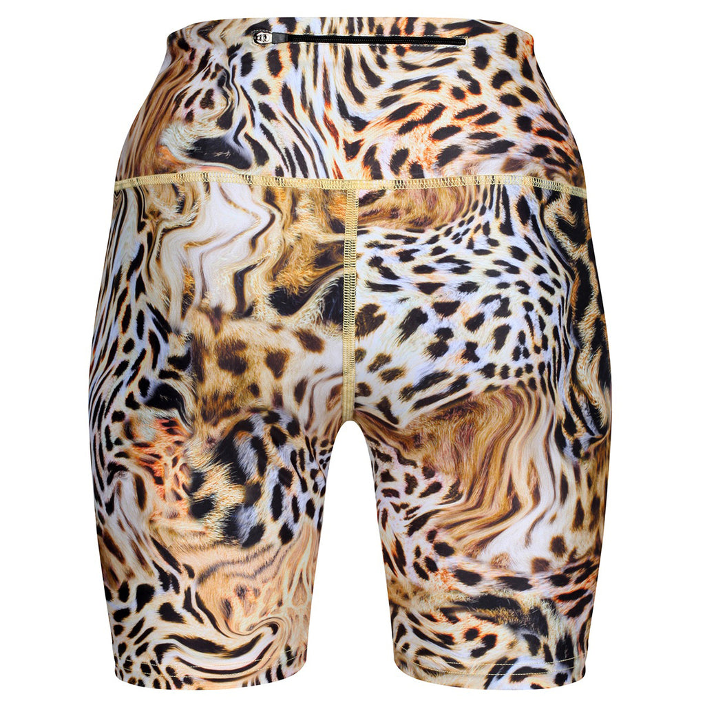 Gold Amur Running Shorts