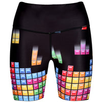Tetris™ Game Play Running Shorts