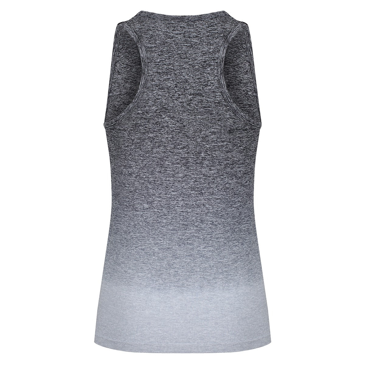 Tikiboo Grey Ombré Vest Top - Back Product View
