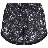 Tikiboo Cosmic Loose Fit Workout Shorts - Front Product View
