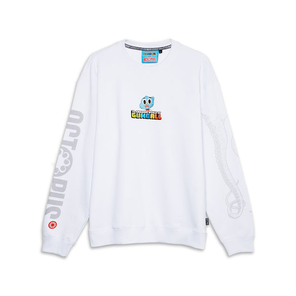 OCTOPUS X GUMBALL WORLD CREWNECK