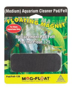 Mag-Float Replacement pad for 125 glass