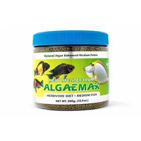 New Life AlgaeMAX Medium Pellet Sinking 2mm-2.5mm 300g