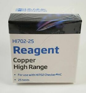 HANNA COPPER CHECKER REAGENTS - 25 PACK