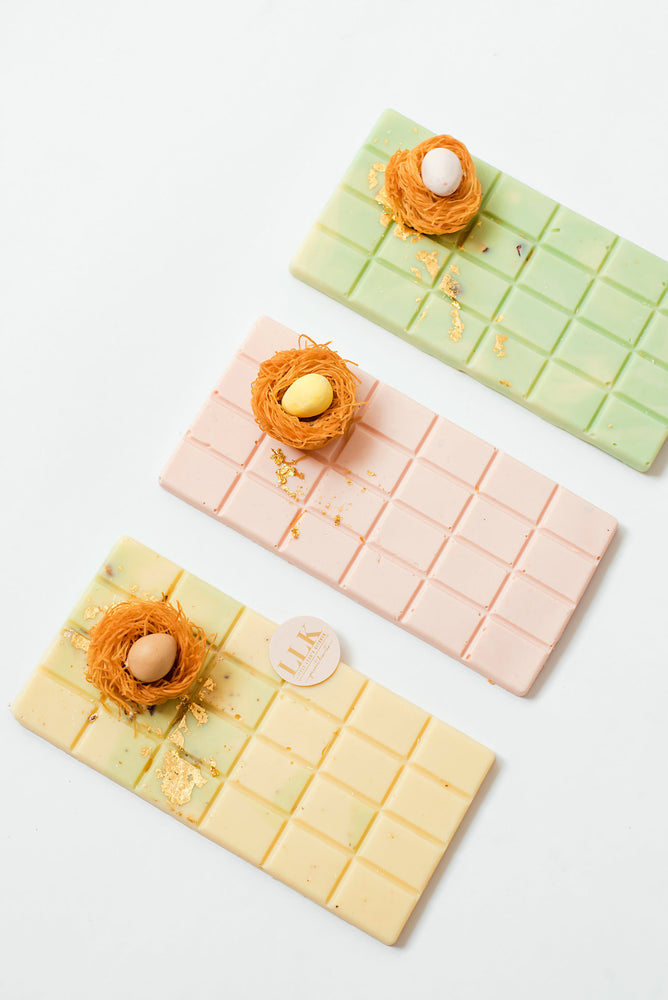 Easter | White Chocolate Bar Trio
